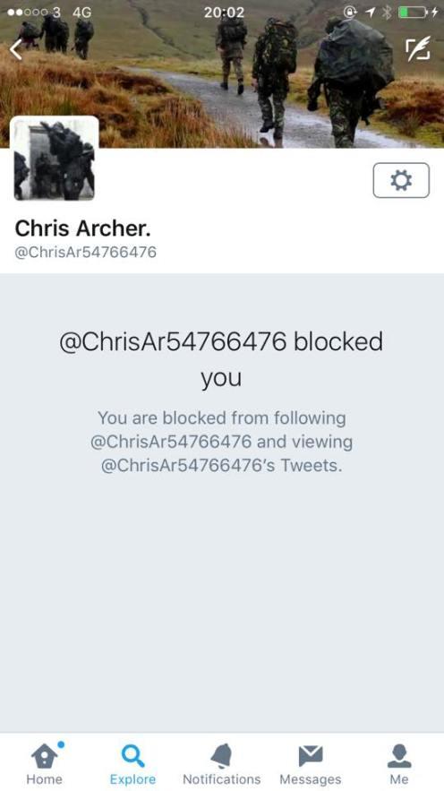 archer blocking everyone