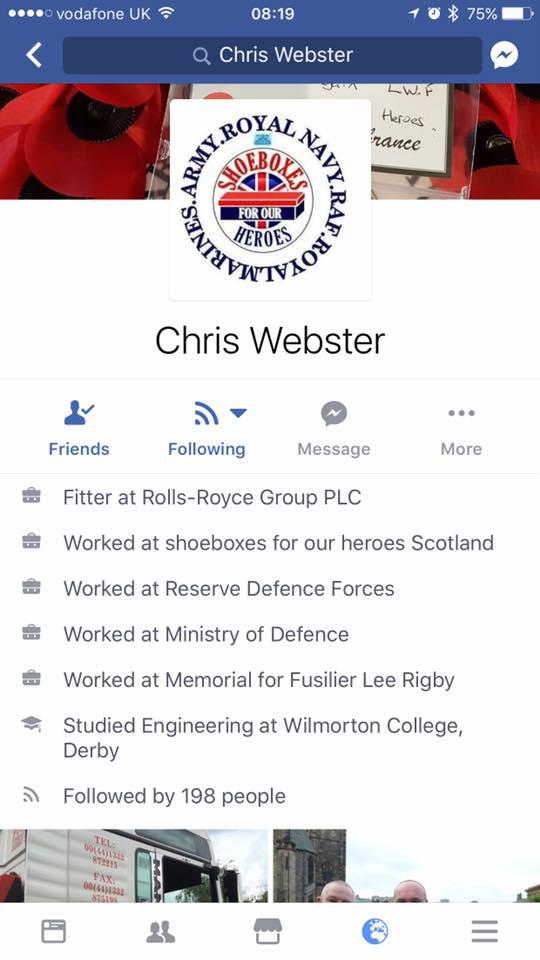 his fake credentials